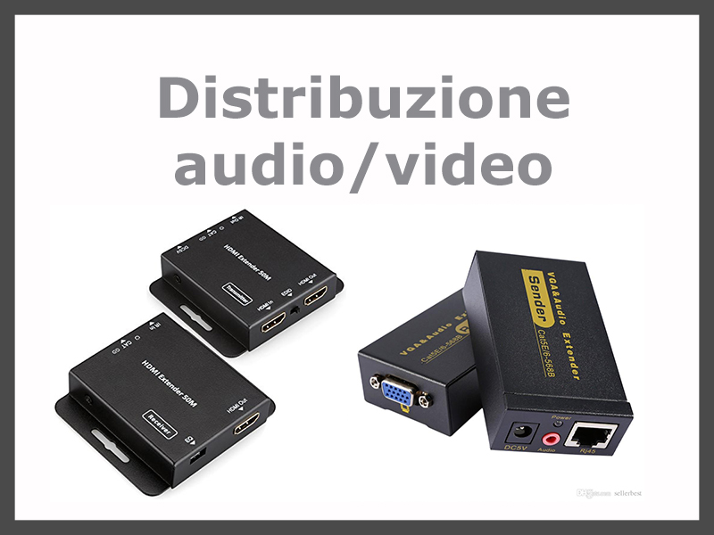 Distribuzione audio e video